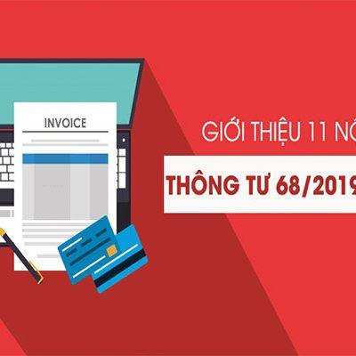 Thong Tu 68 2019 Tt Btc Huong Dan Nghi Dinh 119 2018 Nd Cp Ve Hoa Don Dien Tu Sanpham
