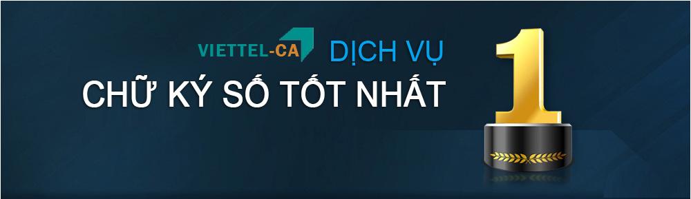 Gia hạn chữ ký số Viettel tại Bình Dương - giá rẻ - chữ ký số tốt nhất