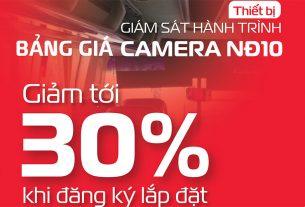 bảng giá bộ thiết bị camera giám sát hành trình của viettel theo nghị định 10